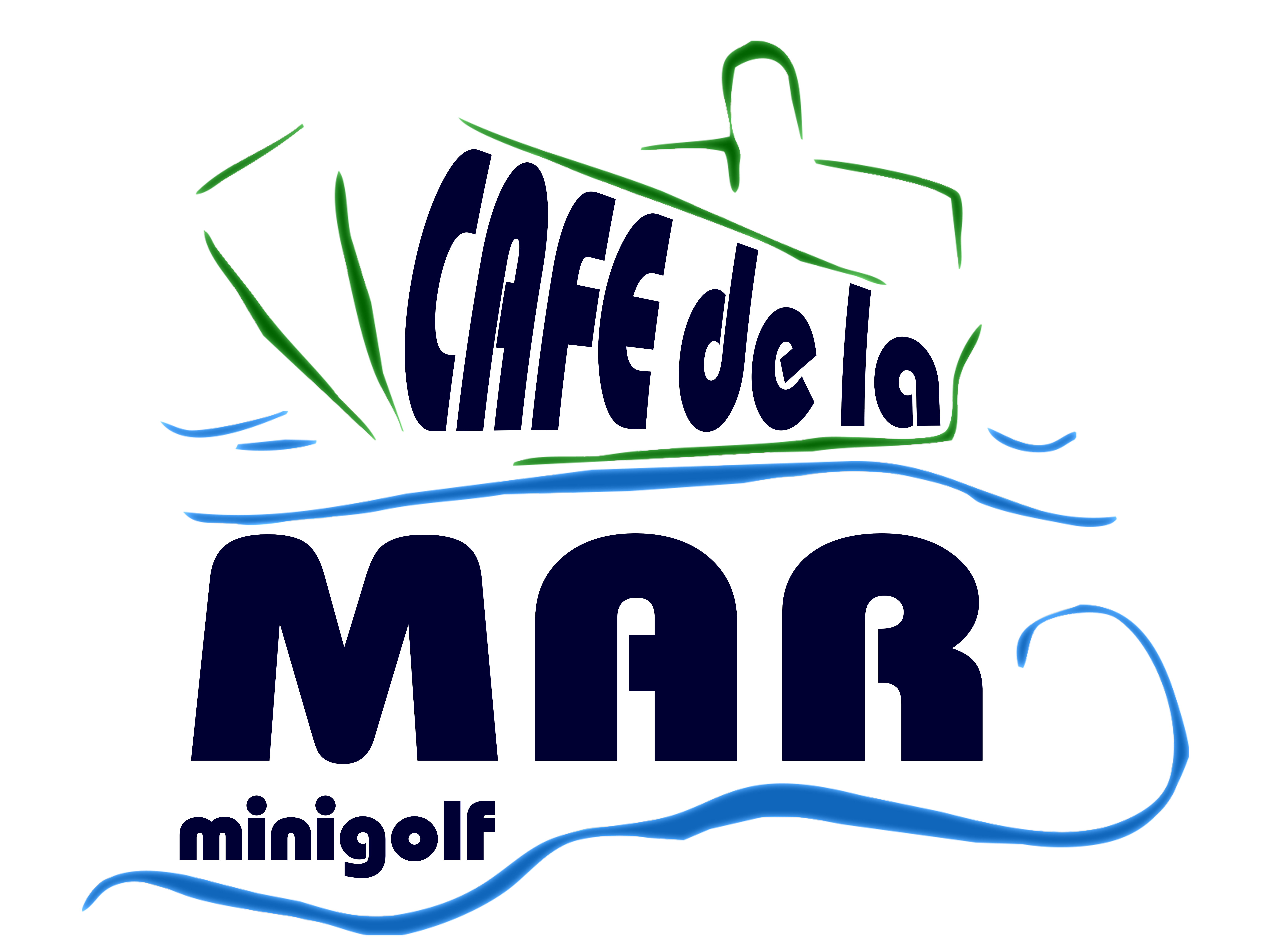 Cafédelamar Minigolf Logo